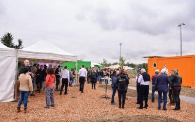 Inauguration du hameau de studios mobiles Ulysse