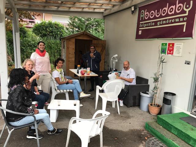 Journée de bénévolat GSK à Aboudaby
